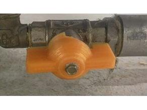 """Drehgriff für Kugelhahn 1/2 Zoll / Spare part for 1/2 """"inch ball valve"""