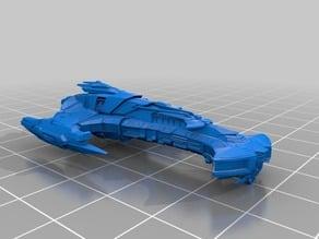 Star Trek - Klingon Bortas Class Battle Cruiser