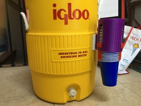Igloo solo cup dispenser