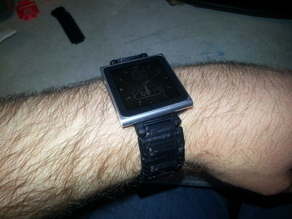 MakerBot Watch - iPod 6th Gen adapter - Fully Printable