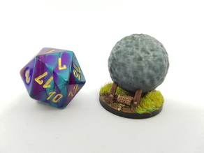 Boulder Trap for 28mm Tabletop Gaming