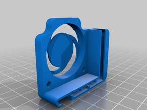 Hotend Fan Cover and wire guide (40 mm)