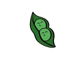 Sugar Peas Cookie Cutter