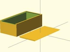 Parametric Sliding Top Utility Box