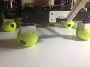 P3STEEL Tennis Ball Feet