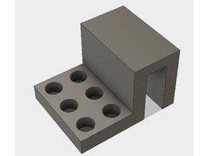 Anet A8 nozzle storage
