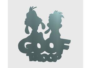Goof Troop Magnet (Goofy & Max)