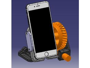 Geared SmartPhone Stand