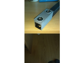 Tool for precise drilling 8 mm hole
