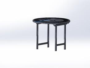 table de maison barbie