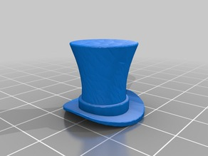 steampunk top hat valve cap for pennyfarthing