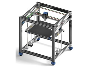 AVZ CoreXY 3D Printer (MGN Linear Rails & Laser Cut Pieces)