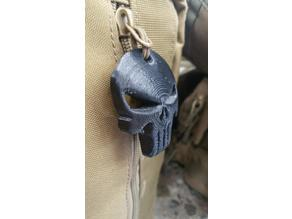 Punisher Zipper Pull