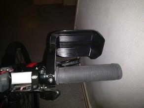 Mountain bike hand guard for 22mm handlebar