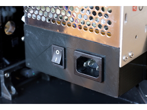 Anet A8 power supply case