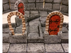 TrueTiles with HeroQuest doors