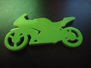 Ninja 250r Motorcycle Keychain