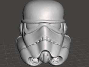 rework of stormtrooper helmet