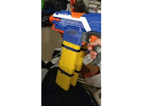 VMag/HMag - Nerf Buzz Bee Foam Dart Jungle Mag Adapter