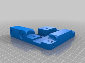 Tronxy X5S Mega gantry plates (with tensioners)