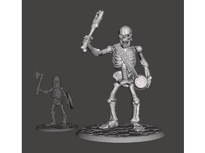 28mm Skeleton Army Undead Giant