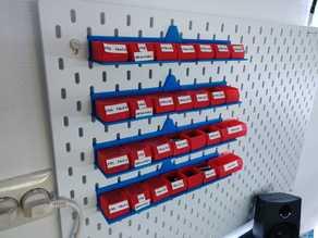 Small Storage System holder for Skadis