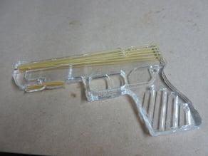 Acrylic Rubber Band Gun