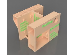 Printed Building Concept - Wall Section Models