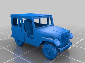 USPS Jeep DJ-5 postal truck