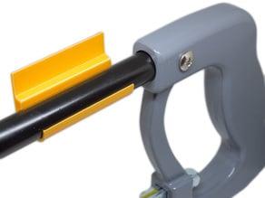 Hacksaw bracket with blade storage - Eisensäge Halter