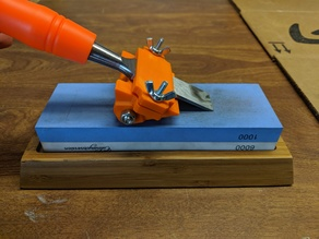 Compact Chisel Sharpening Jig