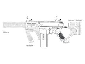 Milsig M17 Frontgrip