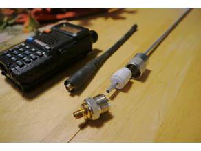 Full Quarter wave 2 meter handheld antenna