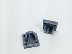 Spool Rod Holder 8mm (meant for waterproof spool storage container)