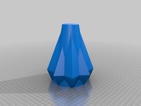 Square vase.