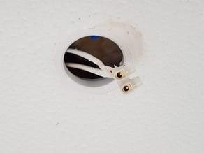 GU10 ceiling repair and reinforcement grommet