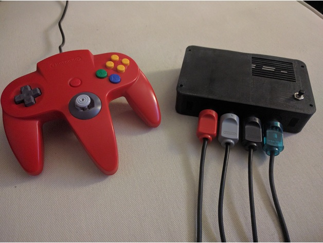 RetroPie Gaming Console for Original N64 Controller by