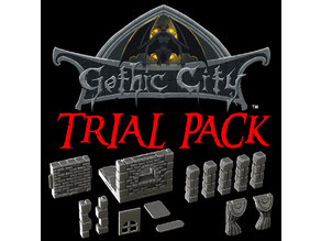 GOTHIC CITY (TILESCAPE 2.0) TRIAL PACK - OUR NEW KICKSTARTER IS NOW LIVE!!!