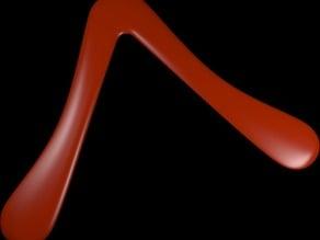 Two-Blade Boomerang
