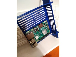 6 inch rack case for Raspberry PI 3 / 2