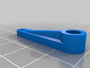 My Customized Parametric Servo Horns & arms Hitec & Futaba Actobotics Tetrix