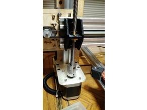 Easy lead screw conversion for Makerfarm i3v