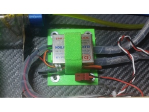 support ignition DLE60 twin