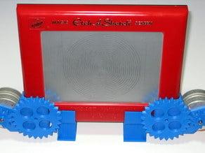 CNC Etch-a-Sketch