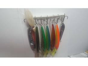 Lure rack