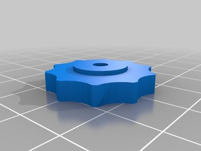 Bed levelling thumb wheel