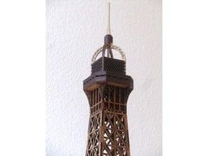 Eiffel Tower, remixed top