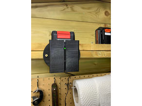 Ozito Power Xchange 18v Battery & Charger Wall Mount