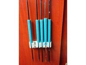 Solder tools holder