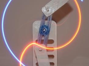 Double Pendulum Kinetic Sculpture